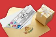 Chèque cadeau 100€ - Chèques Cadeaux - 10doigts.fr