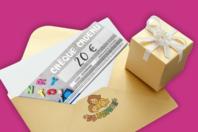 Chèque cadeau 20€ - Chèques Cadeaux - 10doigts.fr