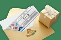 Chèque cadeau 50€ - Chèques Cadeaux - 10doigts.fr