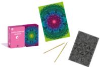 Coffret cartes à gratter - Mandala - Carte à gratter - 10doigts.fr