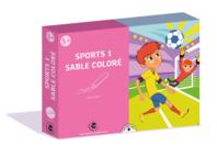 Coffret Sport 1 - Activité Sables colorés - Coffret Sable coloré - 10doigts.fr