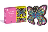 Coffret Sequin - 2 Papillons - Coffret Piquage de Sequins - 10doigts.fr