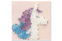 Coffret String art Licorne - String Art - 10doigts.fr