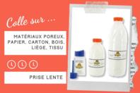 Colle Blanche Vinylique 10 Doigts - Sans solvants - Colles scolaires - 10doigts.fr