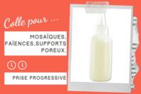 Colle pour mosaïques - 22 ml - Outils et accessoires - 10doigts.fr