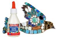 Colle mosaïques - 100 ml - Joint et outils pour mosaïques - 10doigts.fr