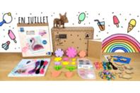 Box créative Créabul - Juillet 2020 - Box créatives - 10doigts.fr