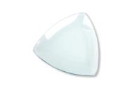 Coupelles triangulaires incurvées en verre - Lot de 12 - Supports en Verre - 10doigts.fr