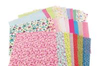 Coupons de tissu imprimé 100% coton - Set de 30 - Coton, lin - 10doigts.fr