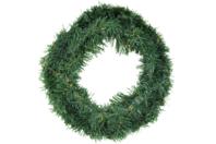 Couronne de sapin artificiel 28 cm - Couronnes de Noël - 10doigts.fr