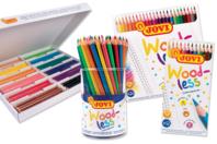 Crayons de couleur sans bois Jovi - Crayons de couleurs - 10doigts.fr
