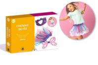 Coffret déguisement - Costume de fée - Coffret Déguisement - 10doigts.fr