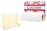 Dérouleur essuie-tout en bois - Cuisine et vaisselle - 10doigts.fr