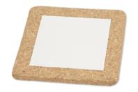 Dessous de plat en liège et porcelaine - 2 pièces - Supports en Céramique et Terre Cuite - 10doigts.fr