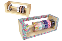 Distributeur de rubans adhésifs - Masking tape (Washi tape) - 10doigts.fr