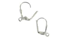Dormeuses à anneaux argentées - Lot de 4 - Boucles et pendentifs d'oreilles - 10doigts.fr
