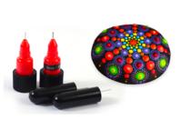 Embouts de précisions pour stylos peinture ou colle - 2 tailles - Accessoires de peintures - 10doigts.fr