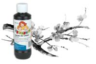 Encre de Chine extra noire - 250 ml - Encres liquides - 10doigts.fr