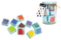 Encreurs colorés - 10 couleurs - Encreurs - 10doigts.fr