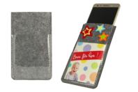 Etui pour smartphone en feutrine épaisse - Objets pratiques du quotidien - 10doigts.fr