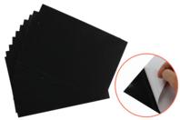 Cartes à gratter adhésives avec fond transparent - 10 pièces - Carte à gratter - 10doigts.fr