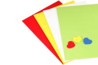 Feuilles de mousse - à la couleur - Papier Mousse - 10doigts.fr