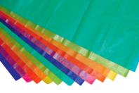 Papier de soie irisées - 12 feuilles assorties - Papiers de soie - 10doigts.fr