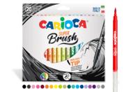 Feutres pinceaux Brush - 20 couleurs - Feutres Fins - 10doigts.fr