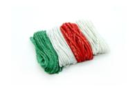Ficelles cordelettes en coton métallisé - 4 couleurs - Fils en coton, échevettes - 10doigts.fr