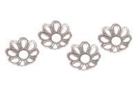Décors argentés pour perles - 20 décors - Perles intercalaires & charm's - 10doigts.fr