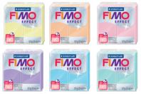 FIMO Effect à l'unité - Couleurs pastel au choix - Fimo Effect - 10doigts.fr