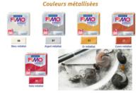 FIMO Effect - Couleurs métalliques - Fimo Effect - 10doigts.fr