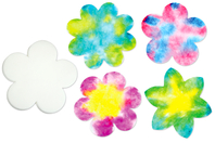 Fleurs en papier diffuseur - Set de 80 - Papiers diffuseurs - 10doigts.fr