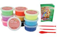 Pâtes à modeler microbilles Foam Clay - Pâtes à jouer - 10doigts.fr