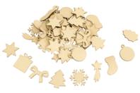 Décorations de Noël en bois - 54 formes - Noël - 10doigts.fr