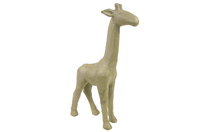 Girafe en papier mâché 15 cm - Animaux en papier mâché - 10doigts.fr