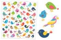 Gommettes Oiseaux - Set de 90 gommettes - Gommettes Animaux - 10doigts.fr