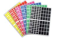 Gommettes rectangles - 18 planches - Toutes les gommettes géométriques - 10doigts.fr