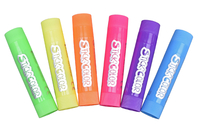 Bâtons de gouache solide - couleurs fluo - Peinture gouache solide - 10doigts.fr