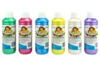 Gouache nacrée 10 DOIGTS - 6 flacons de 250 ml - Peinture Gouache 10 DOIGTS - 10doigts.fr