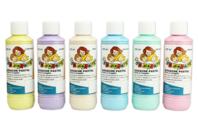 Gouache pastel 10 DOIGTS - 6 flacons de 250 ml - Peinture Gouache 10 DOIGTS - 10doigts.fr