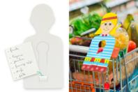 Jetons de caddie à personnaliser - Lot de 6 - Objets pratiques du quotidien - 10doigts.fr