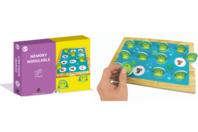 Coffret Jeu Memory et gommettes - Coffret Jeux à créer - 10doigts.fr