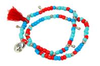 Double-bracelets indiens - Kit pour 3 bracelets - Bijoux, bracelets, colliers - 10doigts.fr