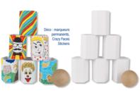 """Kit """"Chamboule tout"""" - Kits Supports et décorations - 10doigts.fr"""