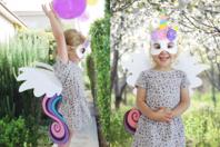 Kit déguisement  Licorne - Mardi gras, carnaval - 10doigts.fr