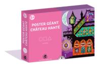Coffret Château hanté - Poster et Gommettes - Halloween - 10doigts.fr