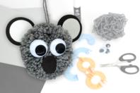 Kit pompons Koala - Kits Mercerie - 10doigts.fr