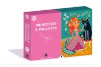 Coffret Princesses - 3 tableaux à pailleter - Paillettes à saupoudrer - 10doigts.fr