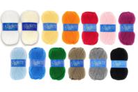 Laine 100 % acrylique Azurite - Laine - 10doigts.fr